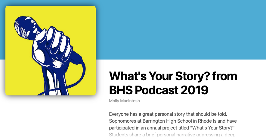 Student Podcasts with Ms. Macintosh and Mr. Caswell