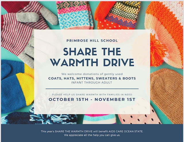 Share the Warmth Drive