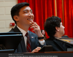 BHS Participates in 73rd Rhode Island Model Legislature