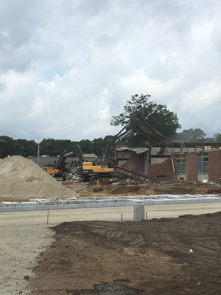 Middle School Demolition