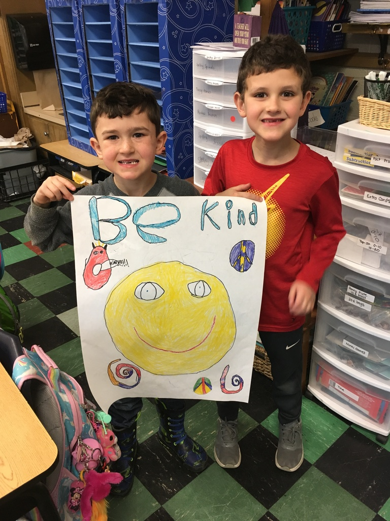 Students on Kindness Day