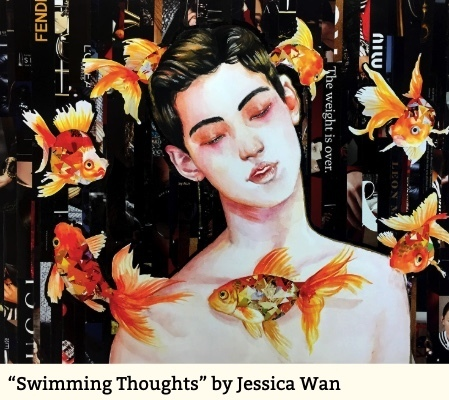 """Swimming Thoughts"" by Jessica Wan"